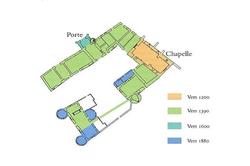 Vente château Chagny Plan masse