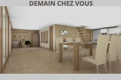 Vente maison Bron image BRON vue table repas bureau RDC