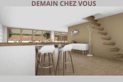 Vente maison Bron image BRON vue int vers ext RDC
