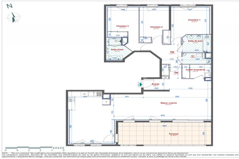 Photo n°4 - Vente appartement Genas 69740 - 563 000 €