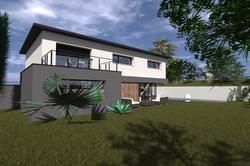 Vente maison contemporaine Pusignan Lot 3 1