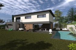 Vente maison contemporaine Pusignan Lot 3 2