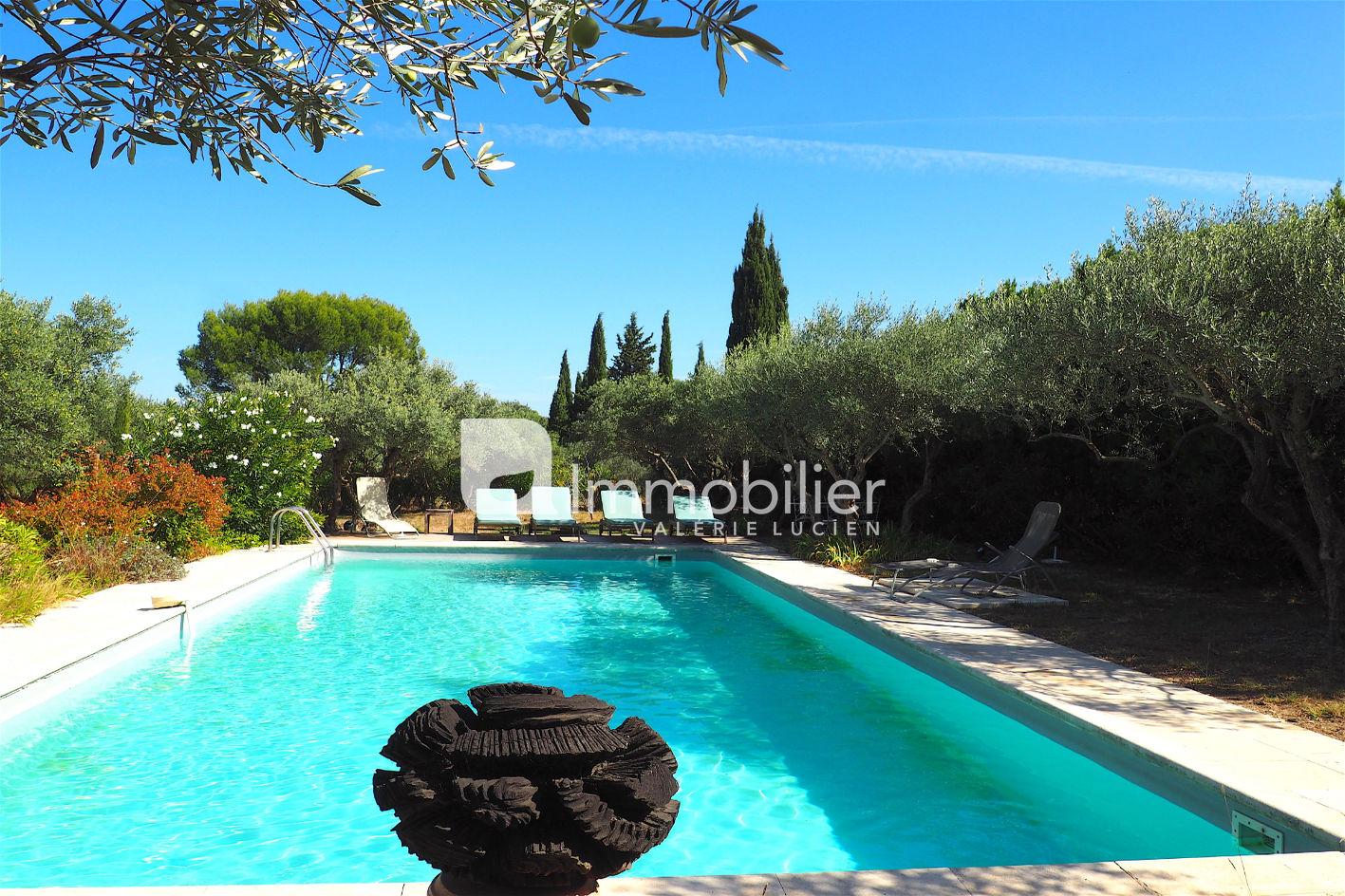Photo Villa provençale Saint-Rémy-de-Provence A pied centre-ville,  Location saisonnière villa provençale  5 bedrooms   180m²