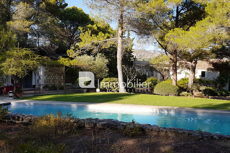 Photo Stone house Les Baux-de-Provence Alpilles,  Location saisonnière stone house  8 bedrooms   450 m²
