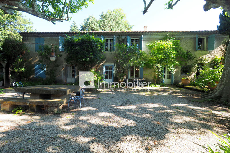 Photo Mas Saint-Rémy-de-Provence A 10 mn,   achat mas  5 chambres   320m²