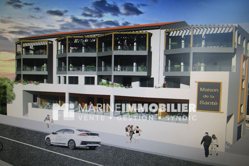 Photo Appartement Port-Vendres Centre-ville,   achat appartement  3 pièces   68 m²