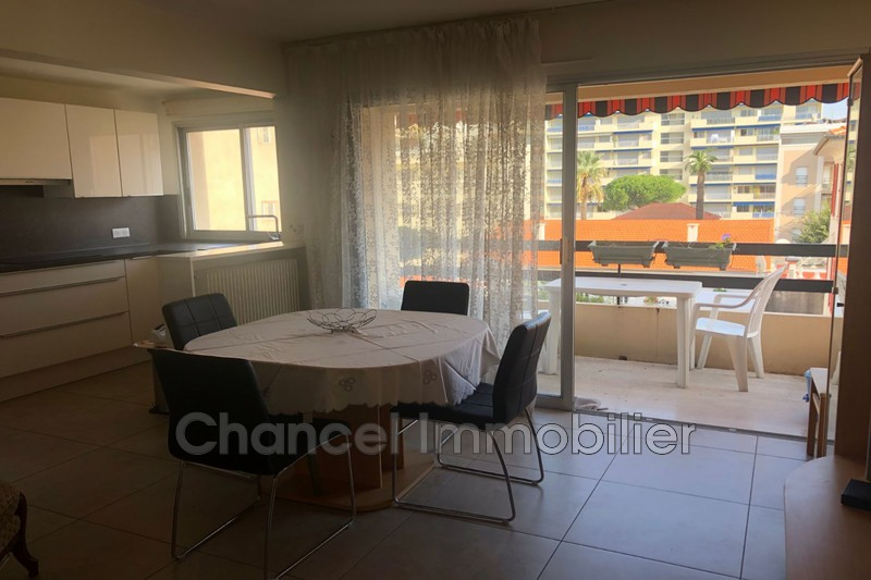 Apartment Juan-les-Pins Juan les pins,  Rentals apartment  2 rooms   43 m²
