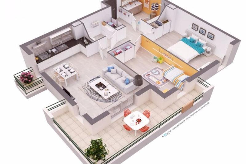 Photo n°13 - Vente appartement Juan-les-Pins 06160 - 670 000 €