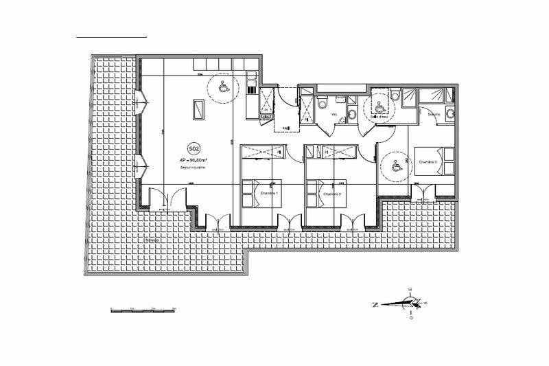 Photo n°3 - Vente appartement Juan-les-Pins 06160 - 670 000 €