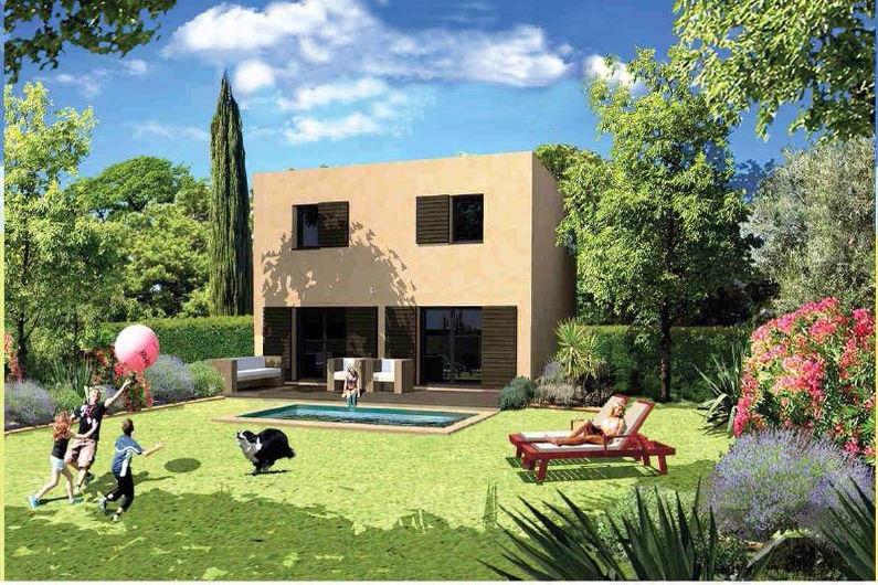 Maison biot riviera neuf maison 3 chambres 91 m for Neuf maison