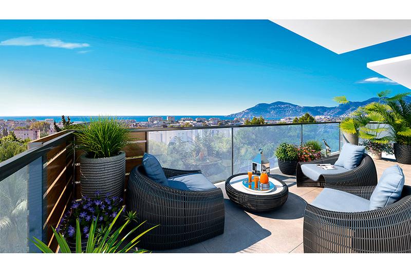 Photo Appartement Cannes Riviera,  Neuf appartement  3 pièces   64m²