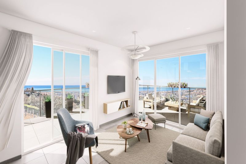 Photo n°3 -  Appartement villa sur le toit Nice 06200 - 945 000 €