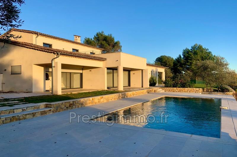 Villa Valbonne Proche ville au calme,  Location villa  3 chambres   180m²