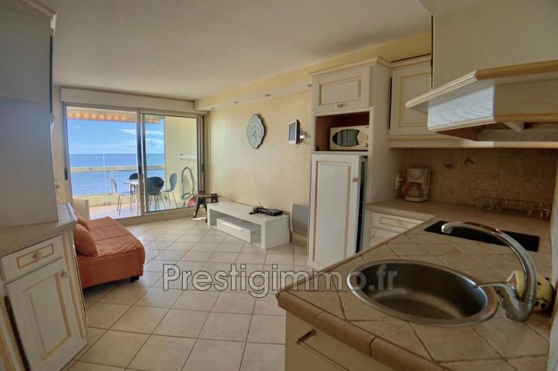Apartment Mandelieu-la-Napoule Front de mer,  Rentals apartment  1 room   28m²