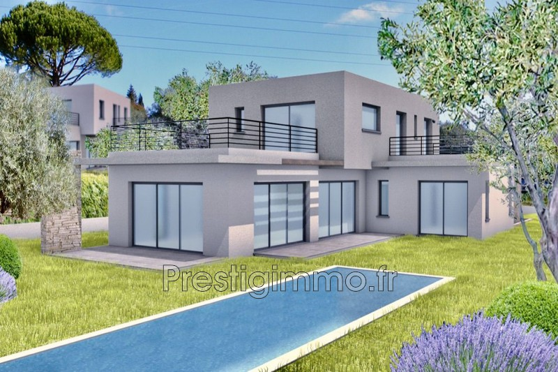 Photo Maison contemporaine Mougins Proche ville au calme,  Rentals maison contemporaine  5 bedroom   220 m²