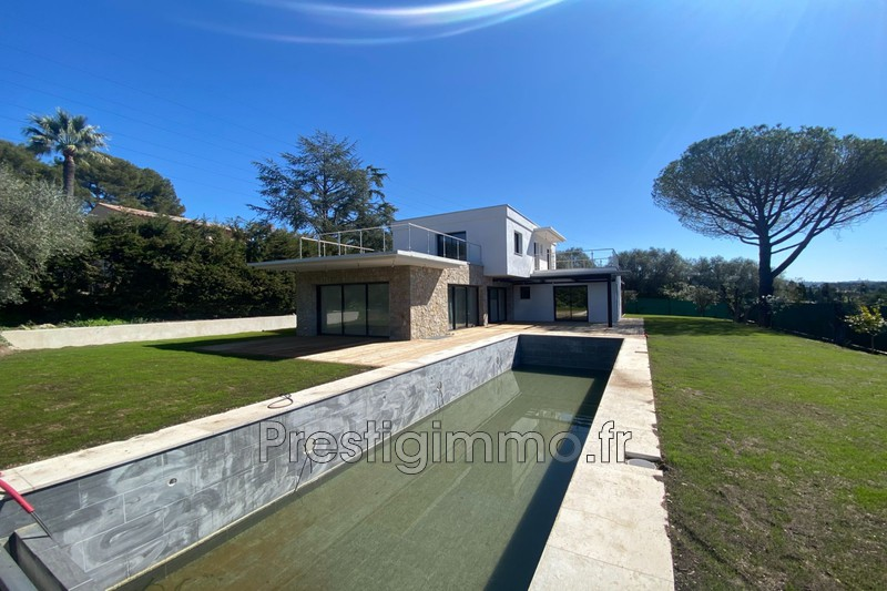 Maison contemporaine Mougins Proche ville au calme,  Location maison contemporaine  4 chambres   160 m²