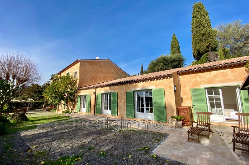 Rez de villa Vallauris Brusquet,  Rentals rez de villa  3 bedroom   125m²
