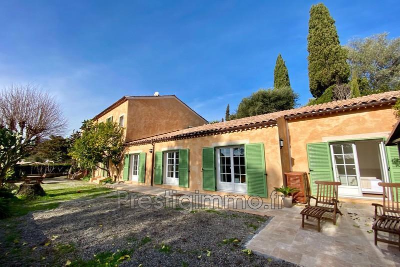 Rez de villa Vallauris Brusquet,  Location rez de villa  3 chambres   125m²