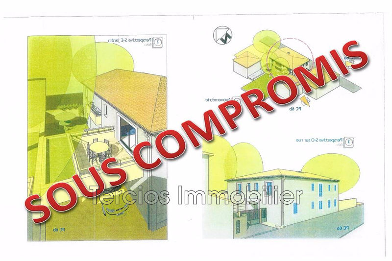 Land Eyragues Centre-ville,   to buy land   438 m²
