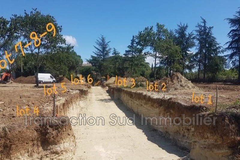 Photo Land Uzès   to buy land   600 m²