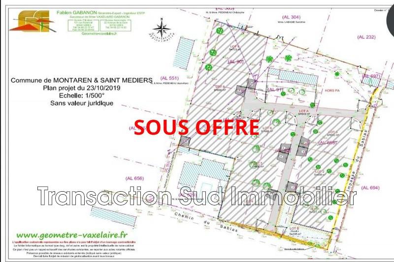 Photo Terrain constructible Uzès Village,   achat terrain constructible   600m²