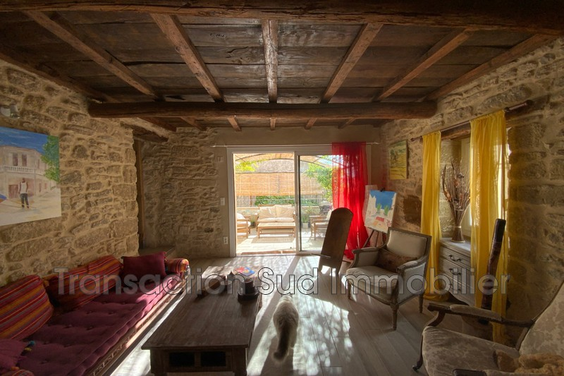 Photo n°1 - Vente maison de village Saint-Quentin-la-Poterie 30700 - 343 000 €