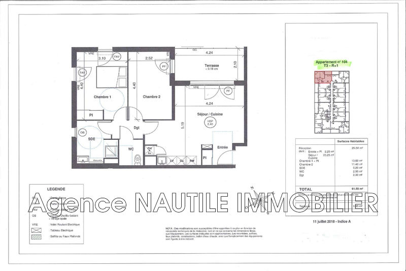 Photo n°4 - Vente appartement Le Grau-du-Roi 30240 - 261 000 €