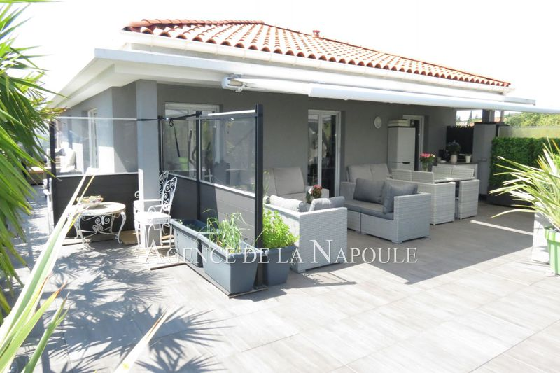 Photo Penthouse Mandelieu-la-Napoule Cannes-marina,   to buy penthouse  4 rooms   90 m²