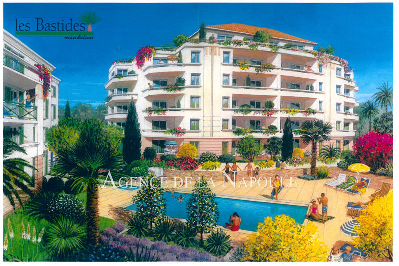 Photo Apartment Mandelieu-la-Napoule Capitou,   to buy apartment  3 rooms   65 m²