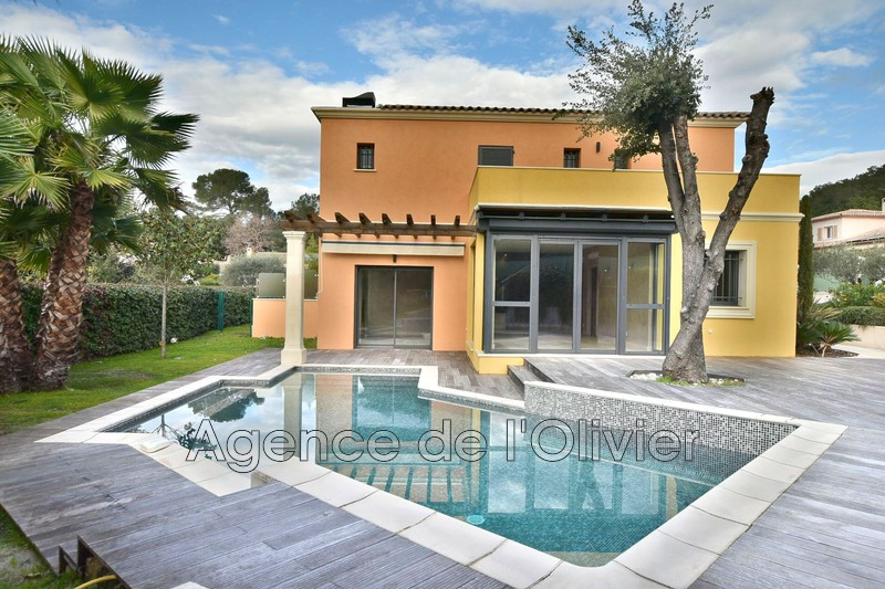 Maison contemporaine Valbonne Proche village,  Location maison contemporaine  4 chambres   212 m²