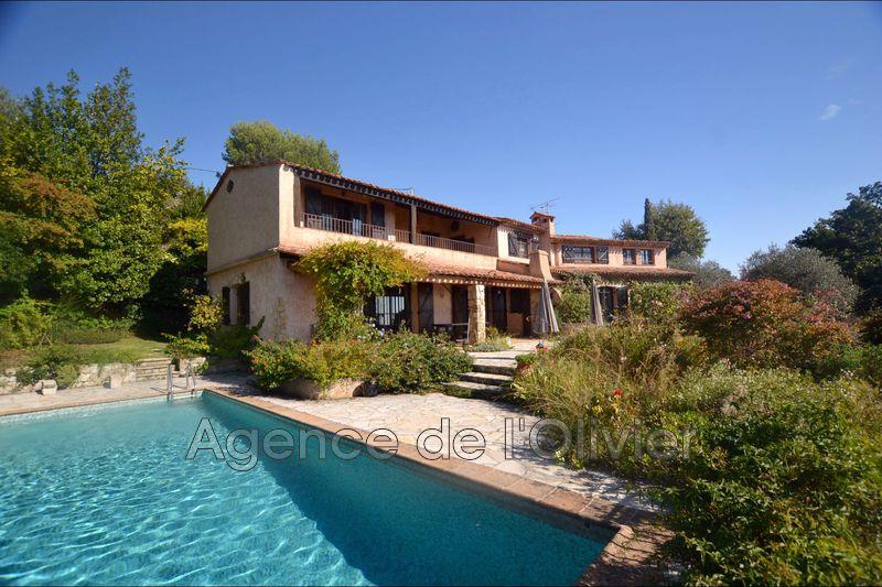Photo Villa provençale Châteauneuf-Grasse Proche village,   achat villa provençale  4 chambres   254m²