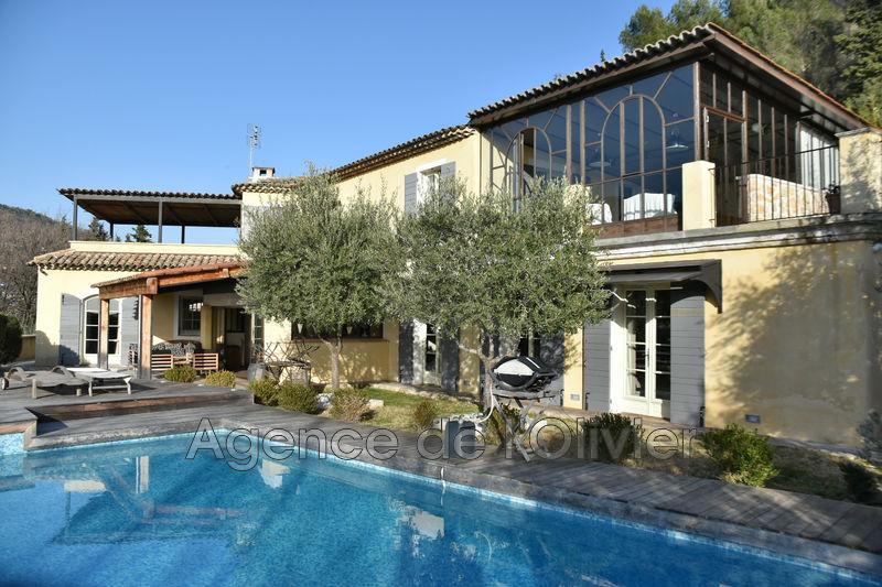 Villa Châteauneuf-Grasse Proche village,   achat villa  5 chambres   280m²