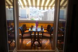 Location saisonnière appartement Sainte-Maxime Terrasse ombre 1