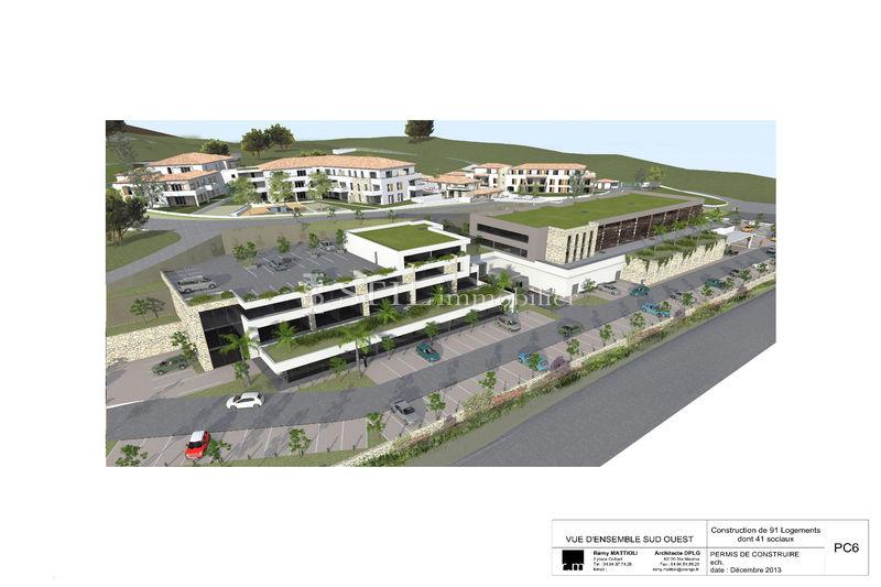 Vente terrain à bâtir Sainte-Maxime  Terrain à bâtir Sainte-Maxime Les moulins,   achat terrain à bâtir   570m²