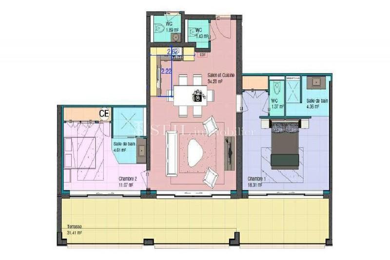 Photo n°13 - Vente appartement Les Issambres 83380 - 990 000 €