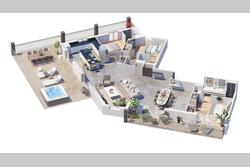 Vente appartement Sainte-Maxime Plan de vente 21