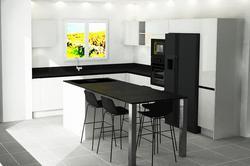 Vente appartement Sainte-Maxime Visuel cuisine 1_Villa Massimo_Lot21
