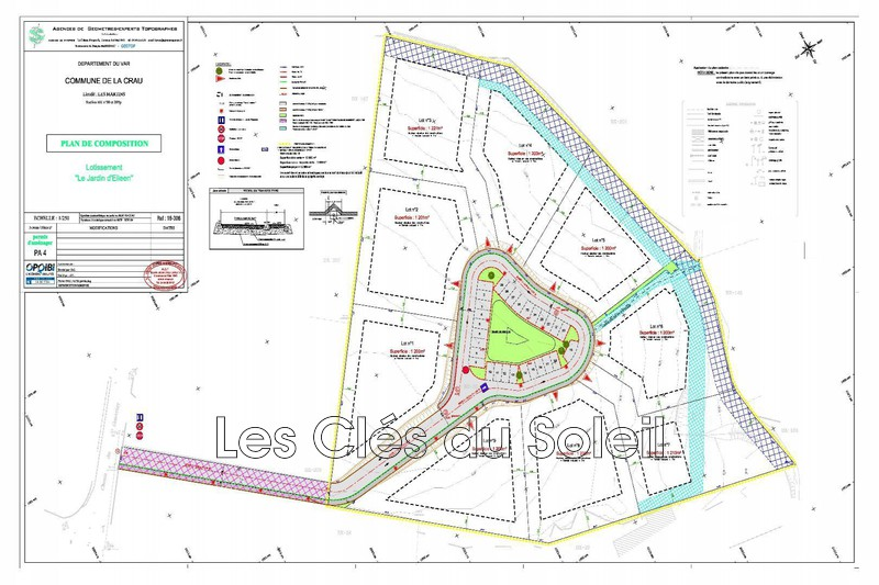 Photo n°2 - Vente terrain La Crau 83260 - 260 000 €