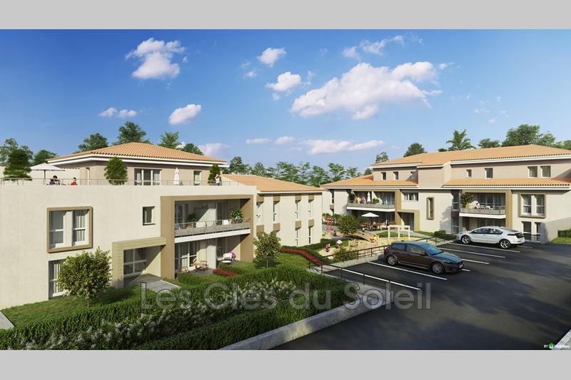 appartement  2 pièces  La Garde Les savels  39m² -