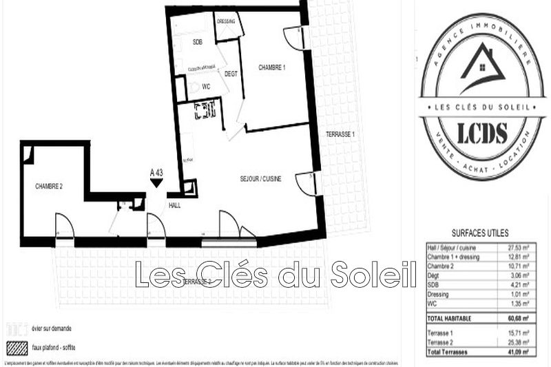 Photo n°2 - Vente appartement Toulon 83000 - 240 000 €