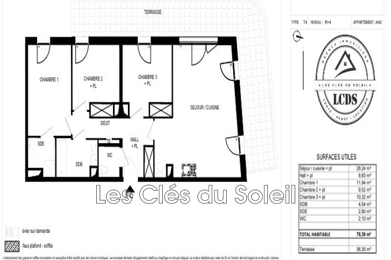 Photo n°3 - Vente appartement Toulon 83000 - 347 000 €