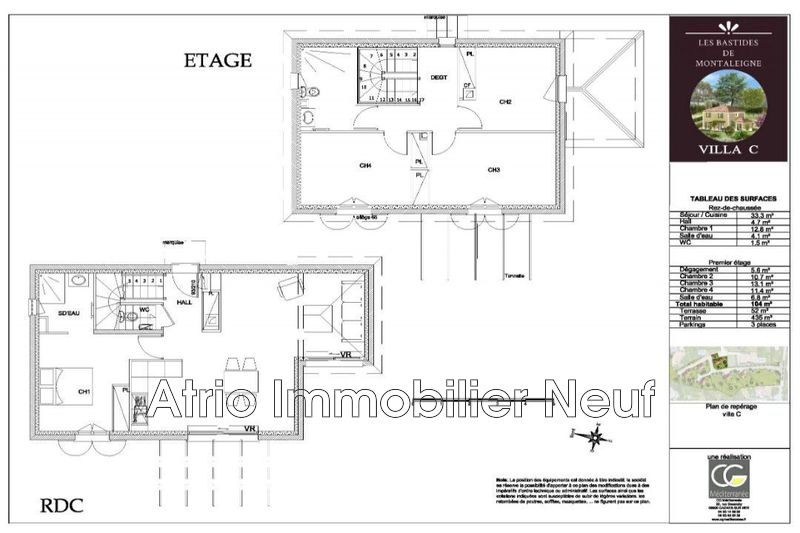 Photo House Saint-Laurent-du-Var Montaleigne,  New house  4 bedrooms   104 m²
