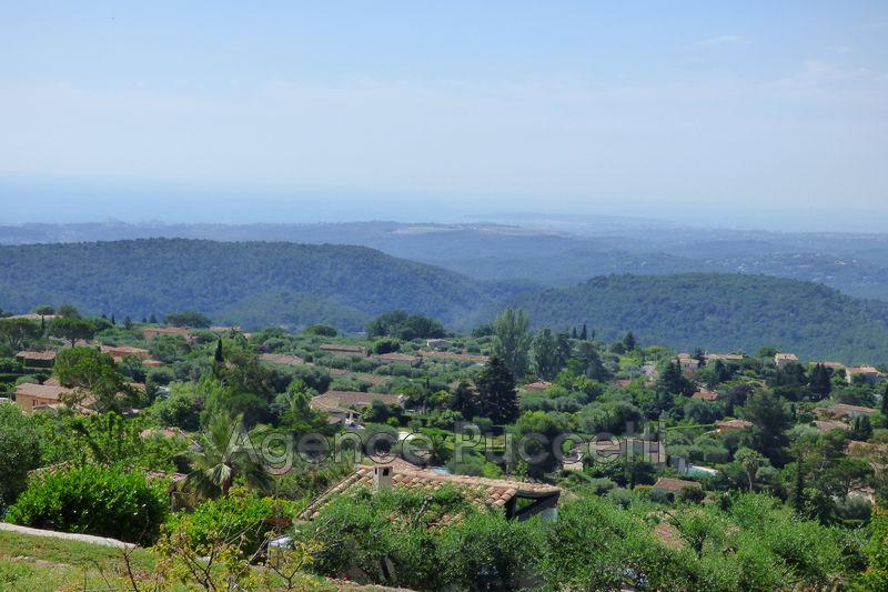 Photo Terrain Tourrettes-sur-Loup Hauteurs,   achat terrain   1311m²