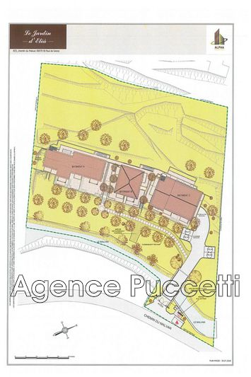 Photo n°3 - Vente appartement Saint-Paul-de-Vence 06570 - 265 000 €