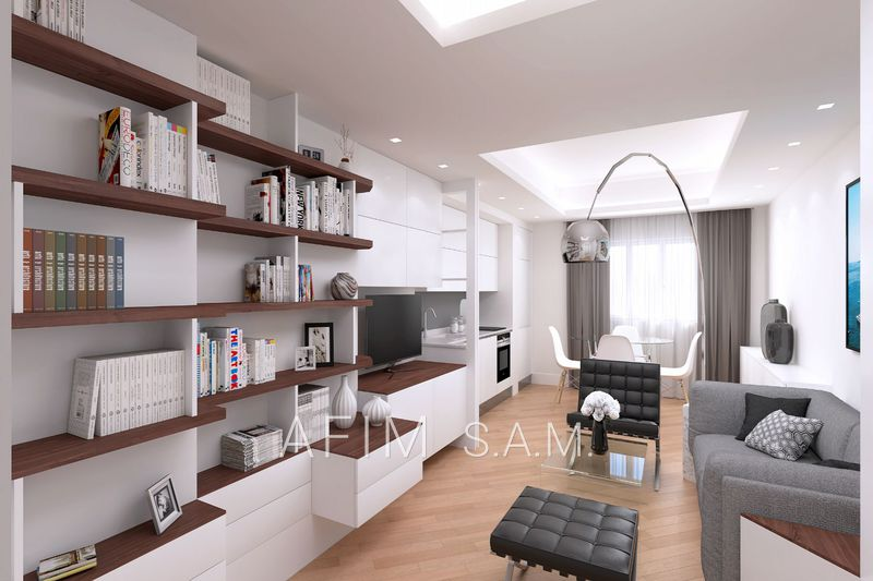 Apartment Monaco La rousse - saint roman,   to buy apartment  3 rooms   75 m²