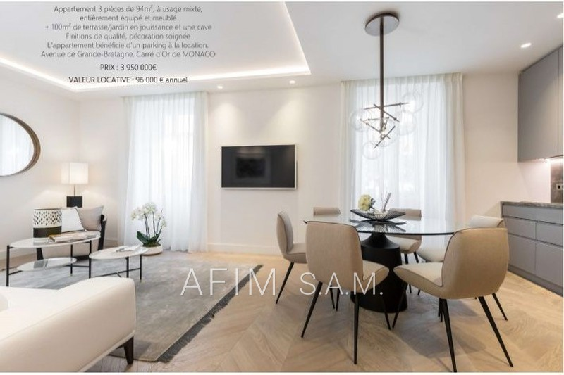 Apartment Monaco Carré d'or,   to buy apartment  3 rooms   189 m²