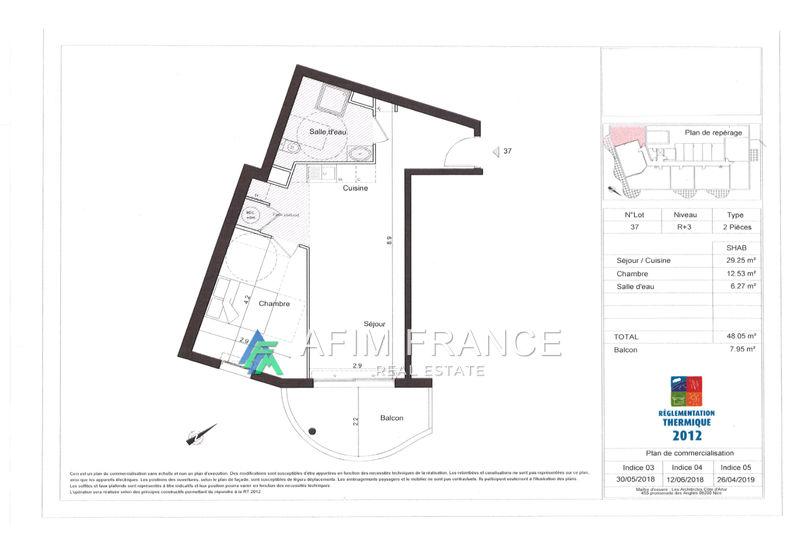 Photo n°8 - Vente appartement Beausoleil 06240 - 369 000 €