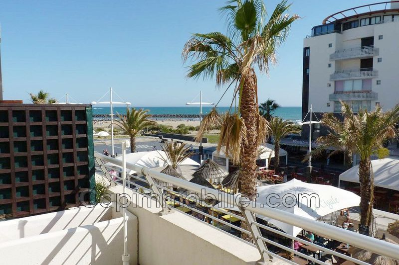 Photo Apartment Agde Rochelongue,   to buy apartment  1 room   26 m²