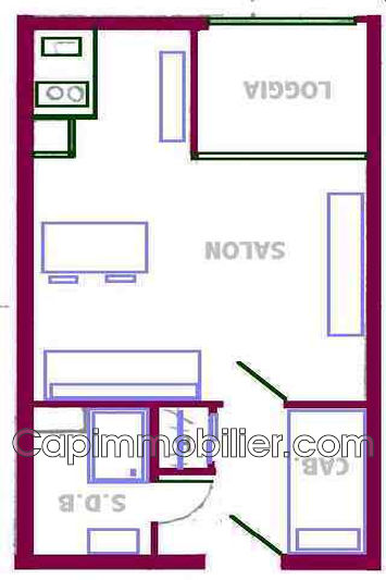 Photo n°11 - Vente appartement Agde 34300 - 55 000 €
