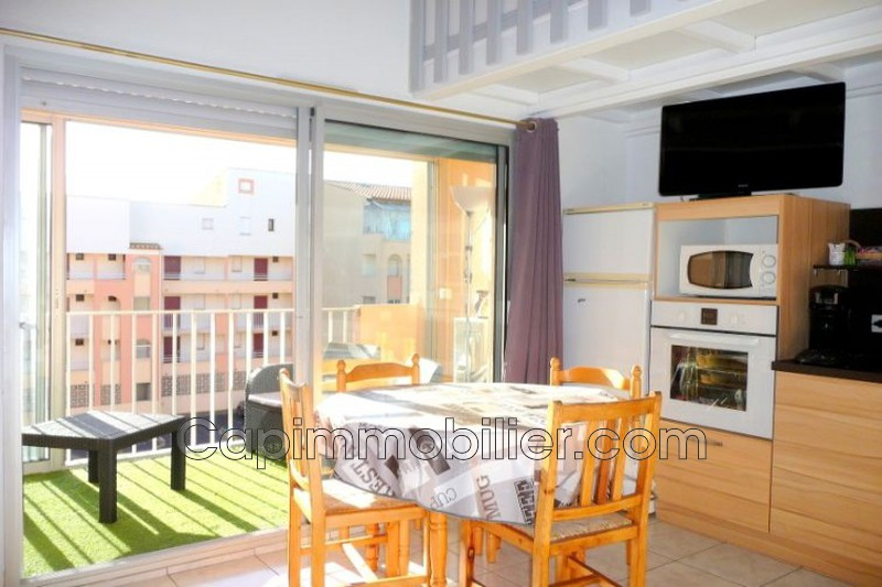 Photo Apartment Agde Richelieu,   to buy apartment  3 room   32 m²